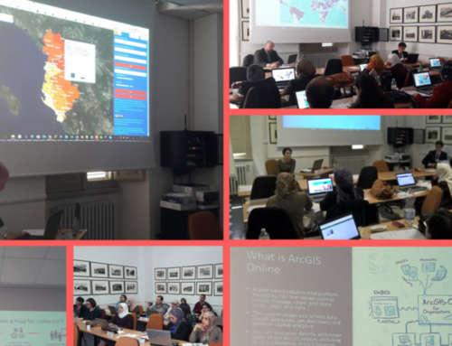 "Sessioni di ""GIS and statistics"" per MEDSTAT IV"