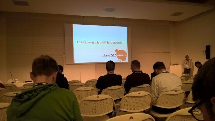 Sessione tecnica @Berlino - EsriDevSummit2016