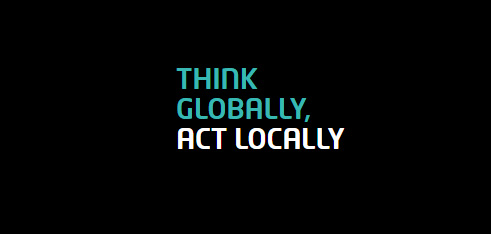 motto fiware: think globally, act locally