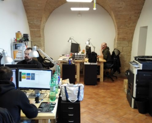 Collepepe 2017, Co-working NTMY