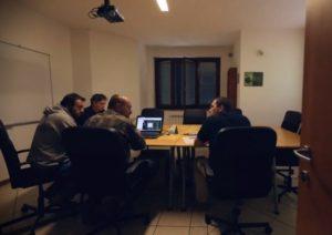 Collepepe 2015 la sala riunioni