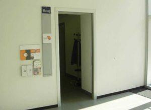 Polo Bonfanti ingresso ufficio