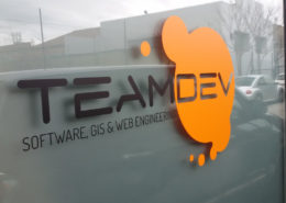 10 anni TeamDev: 2017 Nuovi uffici via Settevalli 320 esterno