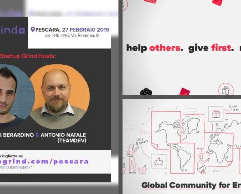 Antonio Natale di TeamDev a Startup Grind a Pescara
