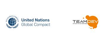 TeamDev è parte del network internazionale del Global Compact, un'iniziativa che promuove un'economia sostenibile focalizzando la propria strategia sulla cittadinanza d'impresa